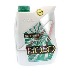 Антифриз зеленый -40С 5кг NORD NG20362, NORD