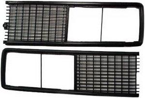 Облицовка радиатора ВАЗ-2106 черная комплект Сызрань 2106-8401012/13С, 2106-8401012