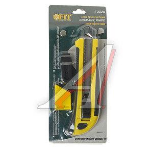 Нож 25мм с сегментированным лезвием автоматический стопор FIT FIT-10328, 10328