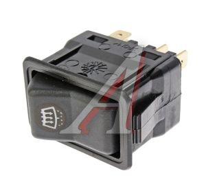Выключатель клавиша ГАЗ-3110 обогрева омывателя стекла переднего АВТОАРМАТУРА 82.3709-01.25