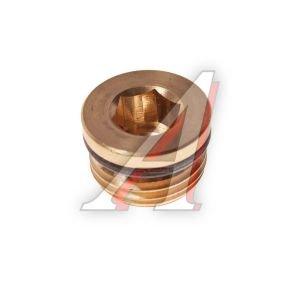 Заглушка фитинга М16х1.5 латунь CAMOZZI S2612 M16X1.5, D2612 M16X1.5, 893 022 008 4