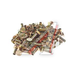 Заклепка тормозных накладок (6.35х15.99мм L10) полутрубчатая,конус (100шт.) EMEK EM9368517201, 93685, MBLR1004