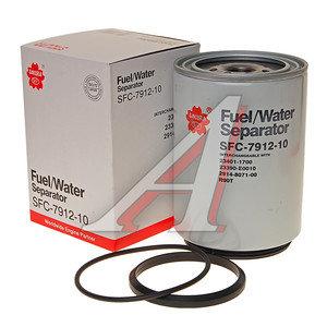 Фильтр топливный FOTON HINO SCANIA VOLVO (резьба под стакан снаружи) SAKURA SFC791210, KC378D/WK1060/5X/P550747/FS19551, 1105111500002/234011700/23390E0010