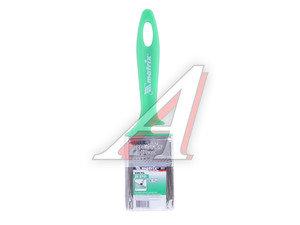 Кисть плоская 50х12мм смесовая щетина пластиковая ручка Color Line MATRIX 83373