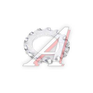 Шайба 6.0х11.0х1.4 ВАЗ-2101 с наружными зубьями фиксатора замка двери 10615471