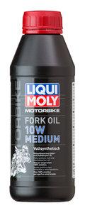 Масло для амортизаторов и мотовилок MOTORRAD FORK OIL MEDIUM 10W 0.5л LIQUI MOLY 7599, LM SAE10W 7599