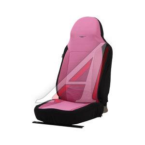 Авточехлы универсальные полиэстр (L) черно-розовые (AIRBAG 3 молнии 7 предм.) Antares PSV 122153, 122153 PSV