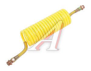 Шланг пневматический витой М22 L=5.5м (желтый) (t=-60+70) СМ AIR FLEX М22 L=5.5м (желтый), СМ452.711.006.0, 64221-3506380