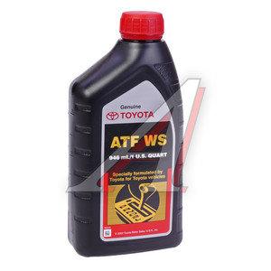 Масло трансмиссионное ATF для АКПП WS 0.946л TOYOTA 00289-ATFWS, TOYOTA ATF