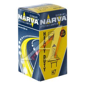 Лампа 24V H7 70W PX26d NARVA 487293000, N-48729HD, 24V70W Н7