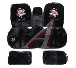 Авточехлы универсальные стрейч на заднее сиденье Love Kills Slowly ED HARDY EH-00131