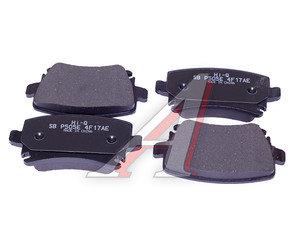 Колодки тормозные AUDI S4,S6,A8 (02-) задние (4шт.) SANGSIN SP2099, GDB1516, 8E0698451C/4F0698451/4B3698451