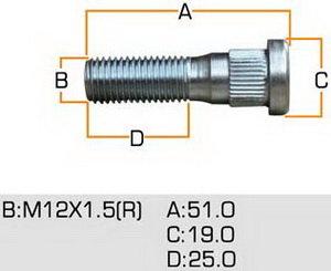 Шпилька MLS-117 MASUMA mls-117