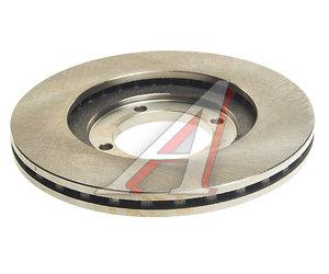 Диск тормозной HYUNDAI Elantra (96-) передний (АБС) (1шт.) VALEO PHC R1012, DF1428, 51712-28300