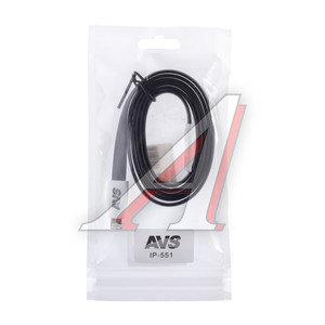 Кабель iPhone (5-) 1м черный AVS A78039S, AVS IP-551