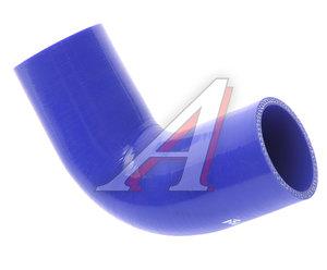 Патрубок МАЗ радиатора угловой (L=220мм, d=60) силикон 555142-1303251