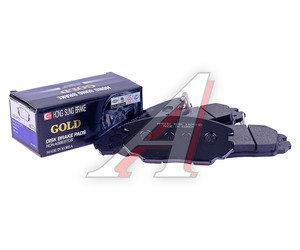 "Колодки тормозные HYUNDAI Sonata NF (16""),Tucson (08) KIA Magentis New (05-) передние (4шт.) HSB HP0031, GDB3409, 58101-3LA20"
