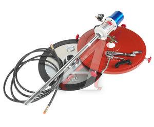 Нагнетатель смазки (солидолонагнетатель) пневматический для емкости 200л, 30г/ход, шланг 6м JTC JTC-4254