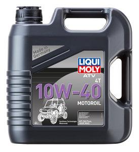 Масло моторное для 4-х тактных двигателей ATV 4T MOTOROIL синт.4л LIQUI MOLY LM SAE10W40 7541