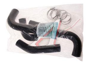 Патрубок ВАЗ-2105 радиатора алюминиевый комплект 4шт. (с хомутами) ТК МЕХАНИК 2105-1303010, 09-13-94М