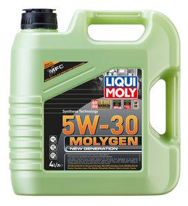 Масло моторное MOLYGEN синт.4л LIQUI MOLY 9042, LM SAE5W30 9042