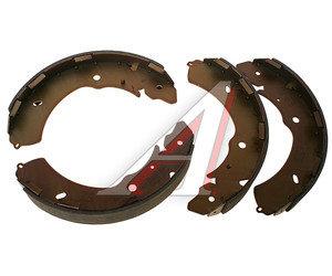 Колодки тормозные MITSUBISHI Pajero Sport (98-),L200 (05-) задние барабанные (4шт.) TRW GS8768, 09470, 4600A018/4600A106/4600A122