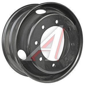 Диск колесный КАМАЗ-4308,ПАЗ,HYUNDAI HD120,MAN (6.75-19.5) 8 шпилек ЗАИНСК (MEFRO) 4308-3101012, 195-3101012