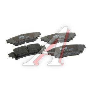 Колодки тормозные TOYOTA Highlander LEXUS RX (09-) задние (4шт.) TRW GDB4174