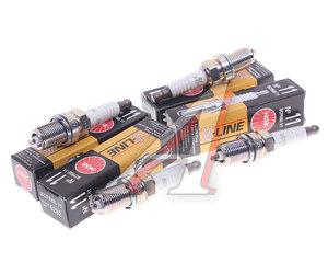Свеча зажигания ВАЗ-2112 V-LINE №11 NGK комплект 5282, BCPR6E11, 2112-3707010-01