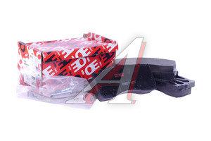 Колодки тормозные ГАЗ-3310 Валдай передние/задние (4шт.) TRW GDB5073