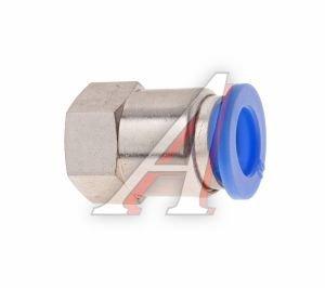 Соединитель трубки ПВХ,полиамид d=10мм (внутренняя резьба) М12х1.25 прямой PCF M12x1.25 d=10, АТ-0727