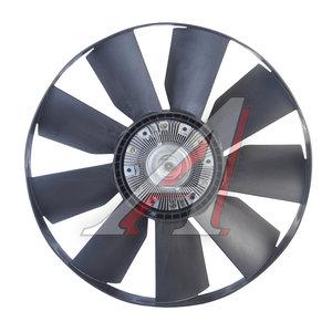 Вентилятор КАМАЗ-ЕВРО 758мм с вязкостной муфтой и обечайкой СБ (дв.740.37,740.60,63) BORG WARNER 020003762