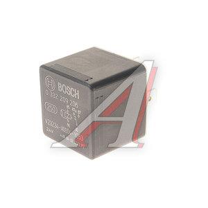 Реле (24V 30A) 5 контактов с сопротивлением BOSCH 0332209206