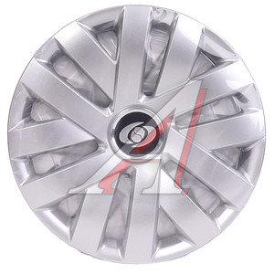 Колпак колеса R-14 декоративный серый комплект 4шт. 216 216 R-14