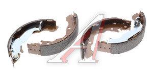 Колодки тормозные HYUNDAI Accent (00-05),Elantra (00-) задние барабанные (4шт.) HSB HS0002, GS8678, 58305-17A00
