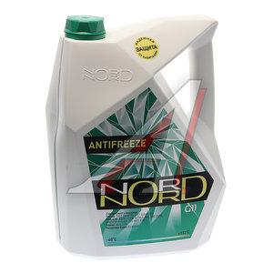 Антифриз зеленый -40С 10кг NORD NORD, 80143