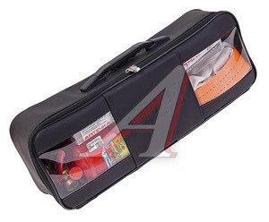 Набор автомобилиста (огнетушитель ОП-2,аптечка,знак,трос 5т,перчатки) кожаная сумка 3.06L