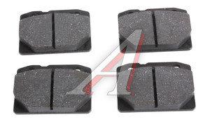Колодки тормозные ВАЗ-2101 передние (4шт.) AD 2101-3501090, 2101-3501089