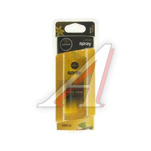 Ароматизатор спрей (ваниль) 50мл Car pump spray AROMA 92056, Aroma Car pump\Vanilla