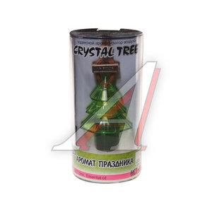 Ароматизатор подвесной жидкостный (аромат праздника) Crystal tree FKVJP HCT-170