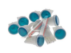 Лампа светодиодная 12V W5W T10W W2.1x9.5d бесцокольная COB 1 SMD CHIPS Blue MEGA ELECTRIC 010514B, ME-010514B