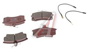 Колодки тормозные ВАЗ-2110 передние (4шт.) ALLIED NIPPON ADB2794, 2110-3501080