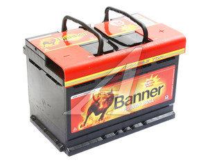 Аккумулятор BANNER Power Bull 74А/ч обратная полярность 6СТ74 P74 12, 83388