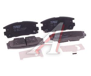 Колодки тормозные OPEL Antara (06-) задние (4шт.) TRW GDB3566, 95459513