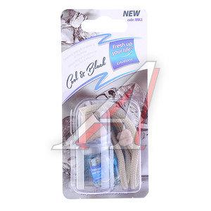 Ароматизатор подвесной жидкостный (черный лед) 5мл KREDO W004