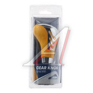 Ручка на рычаг КПП хром/желтая NOVA BRIGHT 37812