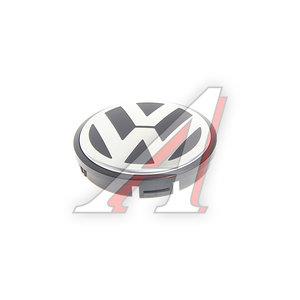 Колпачок VW Golf (1K1,5K1),Jetta (1K2) колесного диска центральный OE 1J0601171XRW