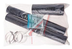 Патрубок МАЗ радиатора комплект 3шт. (с хомутами) ТК МЕХАНИК 5336-1303000 КТ СХ, 02-13-61М, 5336-1303010