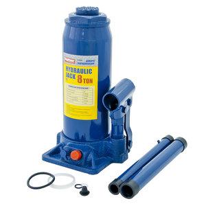 Домкрат бутылочный 8т 230-457мм с клапаном MEGAPOWER M-90804