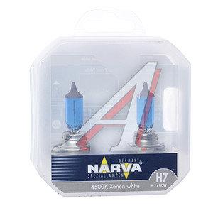 Лампа набор 12V H7 85W + W5W/T105 PX26d бокс (2шт.+2шт.) Range Power White NARVA 98016S2, N-98016RPW2